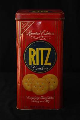 Ritz Crackers Art Print
