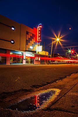Photograph - Ritz Theater Crockett Texas by Micah Goff
