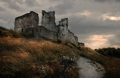 Photograph - Ruined Castle In Rakvere by Jaroslaw Blaminsky