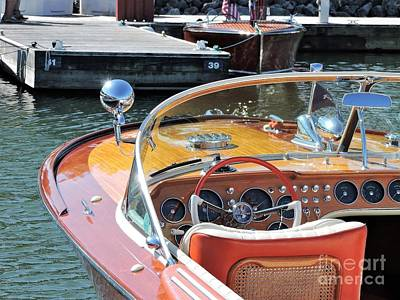 Photograph - Riva Aqua Rama by Neil Zimmerman