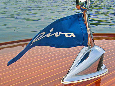 Riva Bow Flag Art Print