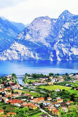 Photograph - Riva Del Garda - Northern Italy - Vertical by Susan Schmitz