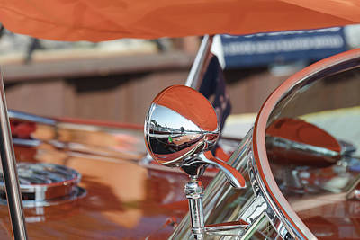 Photograph - Riva Orange by Steven Lapkin