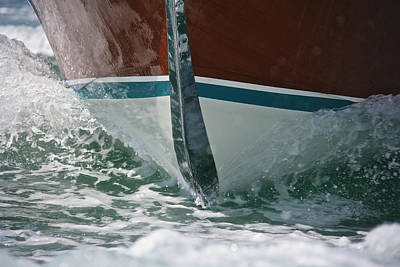Photograph - Riva Runabout by Steven Lapkin