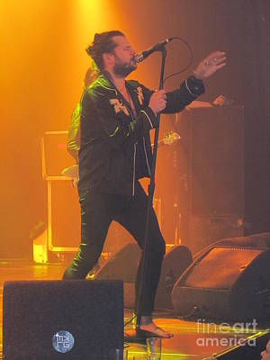 Photograph - Rival Sons Jay Buchanan by Jeepee Aero