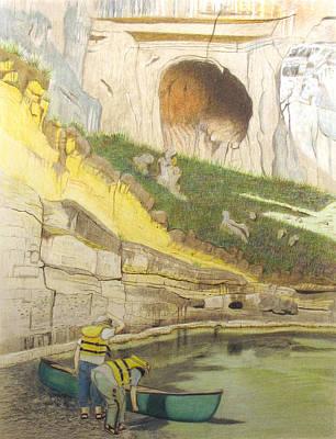 River Adventure Art Print by Myrna Salaun