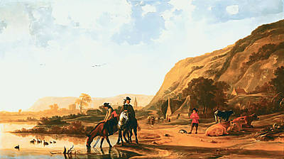Photograph - River by Aelbert Cuyp