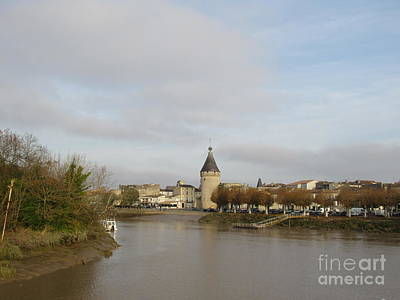 Photograph - River Arrival To Libourne by Barbara Plattenburg
