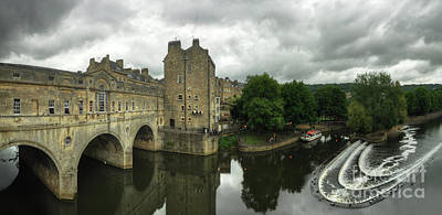 Photograph - River Avon Pulteney Bridge  by Yhun Suarez
