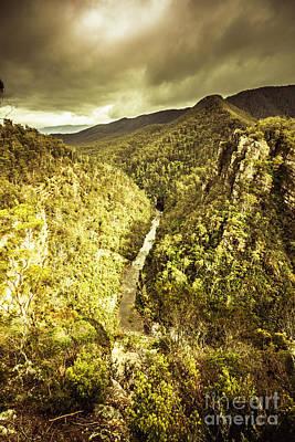Nature Art Photograph - River Below by Jorgo Photography - Wall Art Gallery