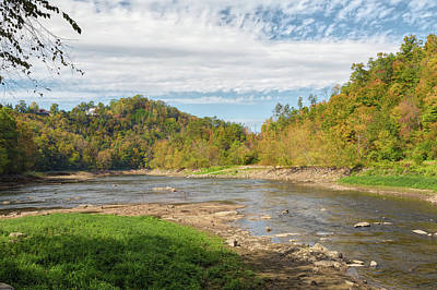 Photograph - River Bend by John M Bailey