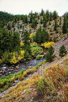 Big Thompson River Photograph - River Bend by Jon Burch Photography