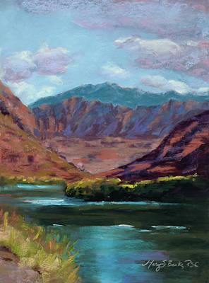 Painting - River Bend by Mary Benke