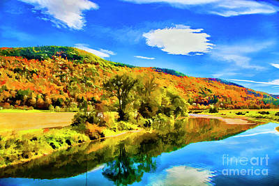 Photograph - River Bend Reflections by Rick Bragan