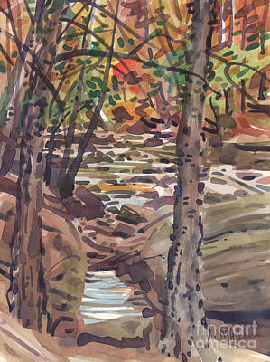 River Birch Original by Donald Maier