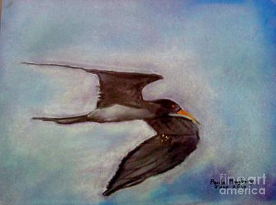 Painting - River Bird by Paula Maybery