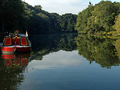 Photograph - River Boat by Barry Doherty