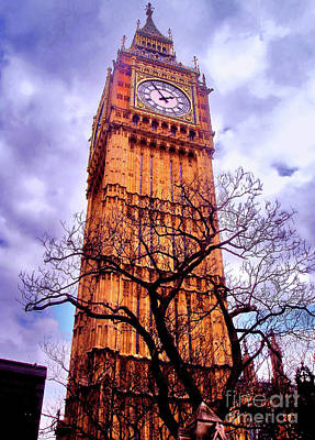 Photograph - Big Ben Clock by Nina Ficur Feenan
