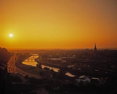 River Boyne, Drogheda, Co Louth, Ireland Art Print