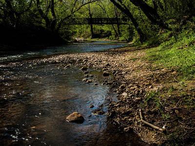 Photograph - River Bridge by Randy Sylvia