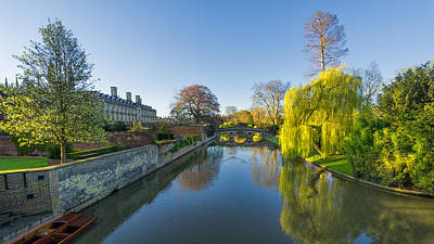 Art Print featuring the photograph River Cam by James Billings