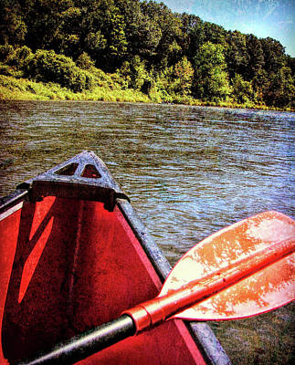 Photograph - River Canoe by JAMART Photography