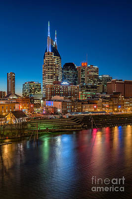 Photograph - River City by Anthony Heflin