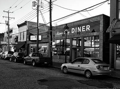 Photograph - River City Diner by Joseph C Hinson Photography