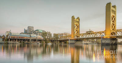 Photograph - River City Waterfront by Charles Garcia