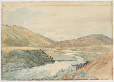 Clarence Painting - River Clarence 1864 New Zealand By James Crowe Richmond by Celestial Images