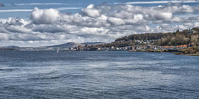 Photograph - River Clyde Scenery by Jeremy Lavender Photography