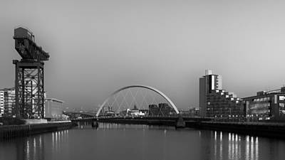 Photograph - River Clyde View by Grant Glendinning