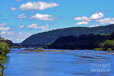 Photograph - River Confluence by Patti Whitten