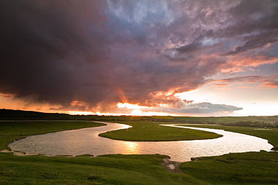 Photograph - River Cuckmere by Will Gudgeon