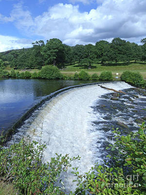 Photograph - River Derwent - Chatsworth Park by Phil Banks
