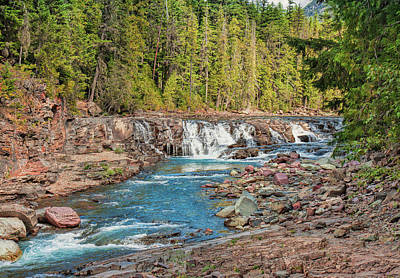 Photograph - River Descent by John M Bailey