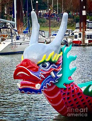 Photograph - River Dragon  by Susan Garren