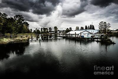 Photograph - River Estuary by M G Whittingham