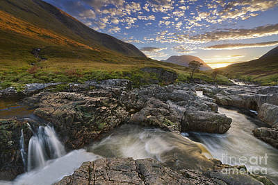 Glen Etive Photograph - River Etive 2 by Rod McLean