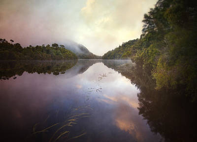 Print featuring the photograph River Fire  by Amy Weiss