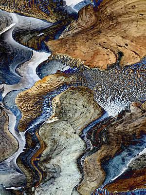 Digital Art - River Flow by Christian Rutz