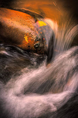 Photograph - River Flow, Zion National Park by Peter OReilly