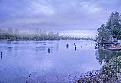 Photograph - River Fog by Bill Posner