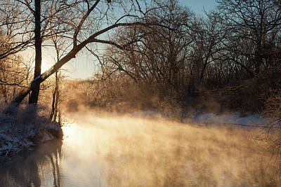 Photograph - River Fog by David Watkins
