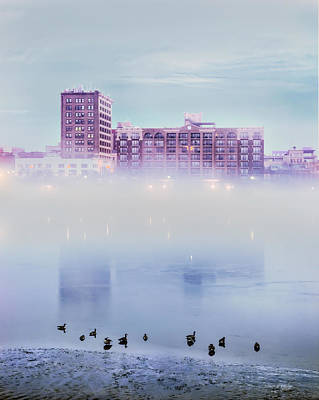 Photograph - River Fog by Denis Lemay
