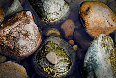 Photograph - River Gems by Jeremy Lavender Photography