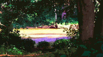 River Glen Hollow Original by Charlie Spear