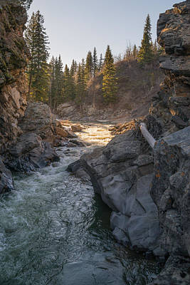 Photograph - River Gorge by Dwayne Schnell