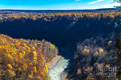 Photograph - River Gorge by William Norton