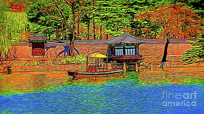 Photograph - River Home 16218 by Ray Shrewsberry